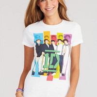 1D Color Group Photo Tee