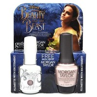 Gelish Duo Gel and Polish 0.5 oz Plumette with Excitement