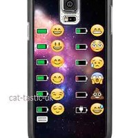 case,cover fits samsung models>space,battery, Emoji,emojis,bright,smiley faces