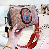 COACH High Quality Women Shopping Bag Retro Shoulder Bag Crossbody Satchel