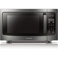 Toshiba ML-EM45P(BS) Countertop Microwave oven with Smart Sensor