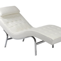 Eurostyle Valencia-1 Lounge Chair (Multiple Colors)