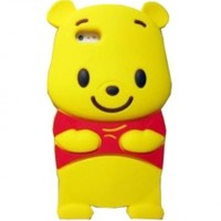 3D Winnie The Pooh iPhone 5 Silicon Case/Cover/Protector