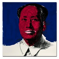 SELFLESSLY 2018 Promotion Rushed Cuadros Andy Warhol Mao Zedong Wall Art Painting Prints On Canvas No Frame Pictures For Living