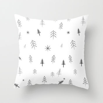O Christmas tree[s] Throw Pillow by Three Lives Left