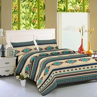 Southwest Aztec Comfort Bed Sheet Deep Pocket Count - 4 Piece Set