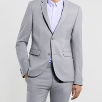 LIGHT GREY ULTRA SKINNY SUIT - Ultra Skinny Suits - Suits - TOPMAN USA