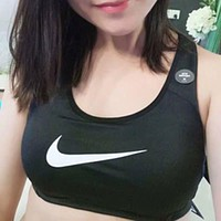 Free shipping / Nike women's high-strength shockproof sports underwear running dancing yoga fitness vest
