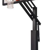 Ironclad Sports Game Changer GC55-LG In Ground Outdoor Adjustable Basketball Hoop 60 inch Tempered Glass