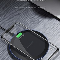 5W QI WIRELESS CHARGER FOR I PHONE X XS MAX XR 8 PLUS