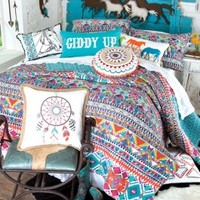 Giddy Up Quilted Bedding Collection - Bedding