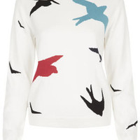 **Birds Sweater By J.W. Anderson for Topshop