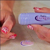 BONAMART ® Salon Express Nail Stencil Kit
