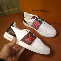 LV Louis Vuitton Trending Unisex Personality Flat Sneakers Sport Shoes I