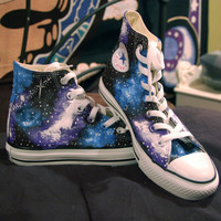 Holiday Sale- Galaxy Converse High Tops