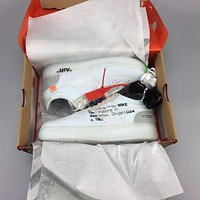 Tagre™ OFF-White x Nike Air Force 1 Low Basketball Shoes