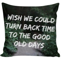 Twenty One Pilots Lyrics Pillow