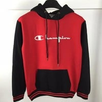 Champion Fashion Casual Long Sleeve Sweater Pullover Sweatshirt Hoodie