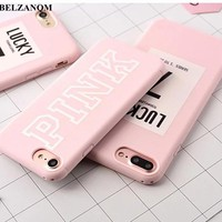 For iPhone 7 Lucky Case Pink