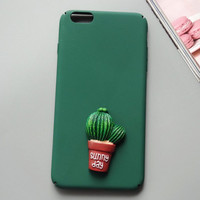 Cactus iPhone 7 7 Plus & iPhone 6 6s Plus & iPhone 5s se Case Personal Tailor Cover + Gift Box-481