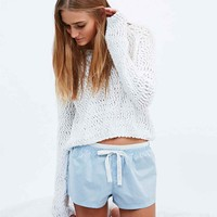 Calvin Klein Polka Dot Bed Shorts in Light Blue - Urban Outfitters