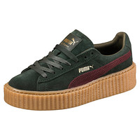 PUMA BY RIHANNA WOMEN'S GREEN-BORDEAUX CREEPER, buy it @ www.puma.com