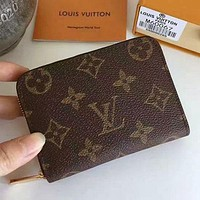 LV Louis Vuitton Trending Women Men Stylish Leather Monogram Canvas Multiple Bank Card Pack Certificate Holster Card Set Credit Card Holder Card Package