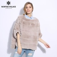 2018 autumn and winter new Fashion Slim rex rabbit fur Short fur coat Winter women rabbit fur coat WINTER PALACE Brands