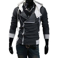 The Assassin Hoodie Charcoal