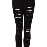 **Shred Bare Jeans by The Ragged Priest - Jeans  - Clothing