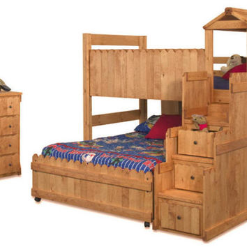 Camp Wildwood Fort Loft Bed
