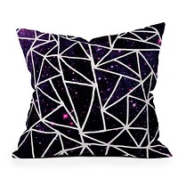 Fimbis Nostromo Rear Window Throw Pillow