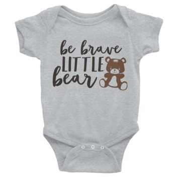 Be Brave Little Bear Onesuit