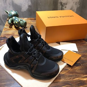 lv louis vuitton womans mens 2020 new fashion casual shoes sneaker sport running shoes 8