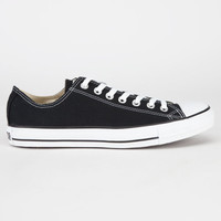 Converse Chuck Taylor All Star Low Mens Shoes Black  In Sizes