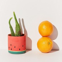 Jarmél By Jarmel For UO Handmade Melon Planter | Urban Outfitters