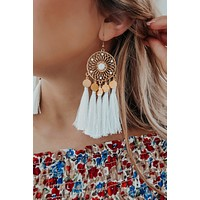 Many Wonders Earrings: Gold/Ivory