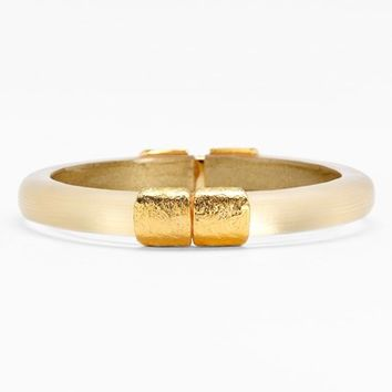 Women's Alexis Bittar 'Lucite' Small Hinged Bracelet