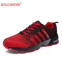 Sports shoes comfortable light weight sneakers for men air mesh