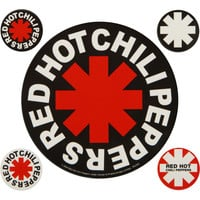 Red Hot Chili Peppers - Sticker Set
