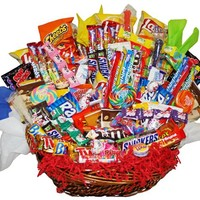 Candy Gift - Assorted Candy Gift Basket - Candy Bouquet