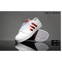 Adidas adidas adidas pair shoes for the 2017 autumn and winter sports shoes for the new leisure sports F-SSRS-CJZX White-Red line