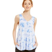 Calvin Klein Performance Tie-Dye Knit Tank | Dillards