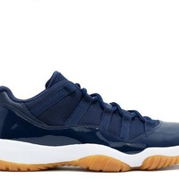 "[FREE SHIPPING] Air Jordan  11 Retro Low ""Navy Gum"" Basketball Sneaker"