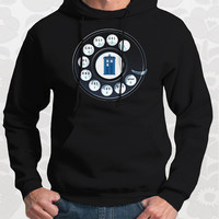 Call the Doctor - Unisex doctor who hoodie. Comes in black and navy.