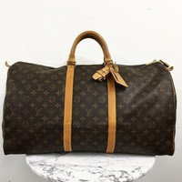 Louis Vuitton ??keepall 55?? Luggage