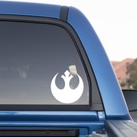 Rebel Alliance Emblem Sticker from Star Wars for Cars and Trucks