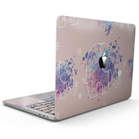 Fun Sacred Elephants - MacBook Pro with Touch Bar Skin Kit