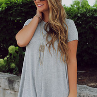 Happily Grey T-shirt Dress
