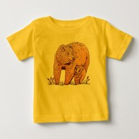 Mother Bear Baby T-shirt